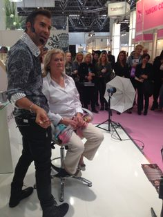 Peter Schmidinger, BABORs make up artist!  #babor #baborspa #baborfacedesign #beautydusseldorf2014 #baborsverige