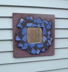 Mosaic Mirror by PiecesofhomeMosaics on Etsy