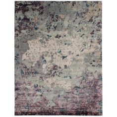 Grit & ground Willow Area Rug, 6' x 9' (2,990 CAD) ❤ liked on Polyvore featuring home, rugs, hand knotted rugs, abstract area rugs, textured rugs, hand knotted area rugs and purple area rugs