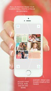 scrapbooking with the project life app