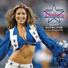 Dallas Cowboy Cheerleaders Calendar 2017
