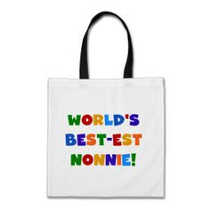 $$$ This is great for          World's Best-est Nonnie Bright Colors Gifts Bag           World's Best-est Nonnie Bright Colors Gifts Bag We provide you all shopping site and all informations in our go to store link. You will see low prices onThis Deals          World's Best-est ...Cleck Hot Deals >>> http://www.zazzle.com/worlds_best_est_nonnie_bright_colors_gifts_bag-149083110592423302?rf=238627982471231924&zbar=1&tc=terrest