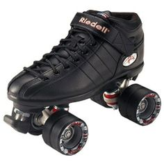 Riedell R3 Speed Skate - Black | Roller Derby Skates | Roller Derby Quad Skates UK | Cheap Skates For Sale | Cheap Skates For Sale | Skatehu...