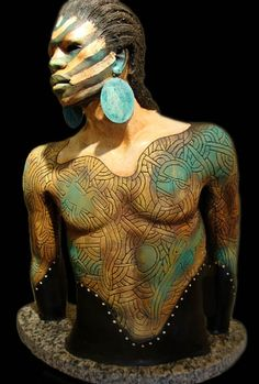 Woodrow Nash - Zarek - Ceramic Sculpture