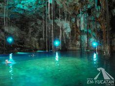 Cenote Xkeken, Dzitnup Valladolid, Cenotes Merida