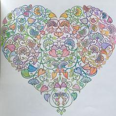 Johanna Basford   Colouring Gallery Joanna Basford, Colouring, Color Inspiration, Bradford, Gallery, Garden, Artwork, Red, Pink