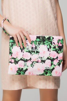 Floral clutch $40
