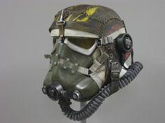 Custom Stormtrooper helmets. Talent.