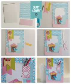 Create a cute card with an adorable little bird using the Meadow Sweet collection. Anna-CafeCreativo for Craft Asylum