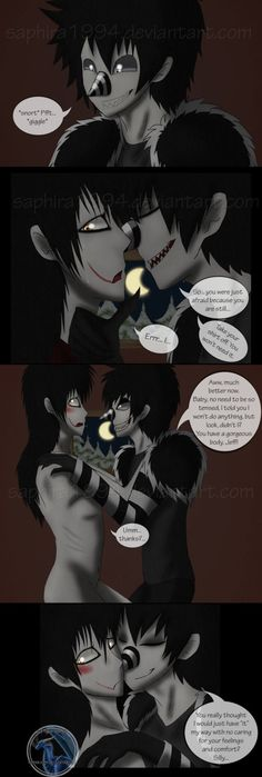 Adventures with Jeff the killer - PAGE 54 by sapphiresenthiss