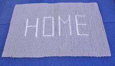 OHJE: Matto kirjoituksella | lanka-tekstiili Rugs, Diy, Home Decor, Farmhouse Rugs, Decoration Home, Bricolage, Room Decor, Do It Yourself, Home Interior Design