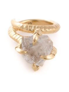 Bjorg 'Herkimer Claw' ring