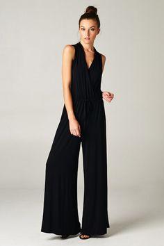 Madison Jumpsuit in Black