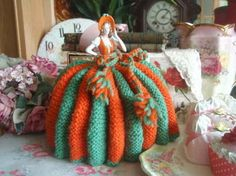 Vintage Crinoline Lady Half Pin Doll Tea Cosy | eBay