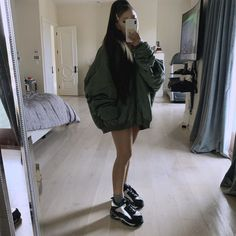 Shop Now at Ariana Grande Store! New mirror selfie from IG submitted by [link] [comments] Ariana Grande Fotos, Ariana Grande Pictures, Ariana Grande Body, Ariana Grande Outfits Casual, Casual Outfits, Summer Outfits, Cute Outfits, Casual Shirt, Mode Kylie Jenner