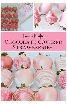 Best Chocolate, How To Make Chocolate, Homemade Chocolate, Chocolate Bowls, Chocolate Art, Making Chocolate Covered Strawberries, Chocolate Covered Treats, Strawberry Dip, Strawberry Recipes