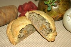 Large Traditional Pasty with Rutabaga