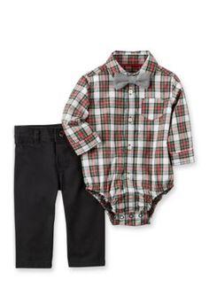 Carter's 2-Piece Dress Me Up Set - Black - 18 Months