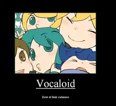 Vocaloid Motivational Poster by nekorandomnessqueen.deviantart.com on @deviantART