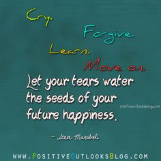 let your tears