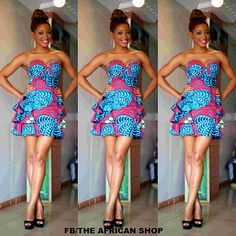 Milah+Dress+by+THEAFRICANSHOP