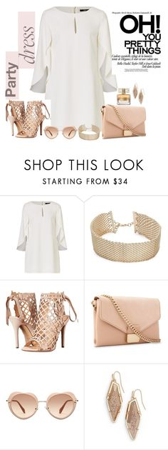 """Untitled #726"" by ashantay87 ❤ liked on Polyvore featuring R.J. Graziano, Marchesa, Whistles, Miu Miu, Kendra Scott, Givenchy and partydress"