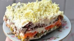 Omelet Roll With Melted Cheese Recipe Top Salad Recipe, Salad Recipes, Cheese Recipes, Chicken Recipes, Healthy Cooking, Cooking Recipes, Bolet, Good Food, Yummy Food
