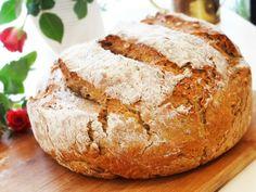 Pâine fără frământare cu semințe/Bread without kneading with seeds