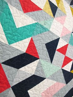"""Mercury by Jodi Weir. Vancouver, British Columbia. Quilted by Catherine Hanna of """"The Quilted Garden"""""""