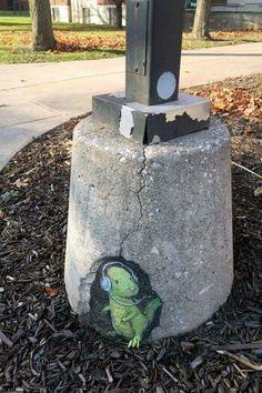 Street art in Michigan
