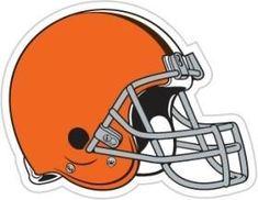Cleveland Browns Magnet Car Style 12 Inch Helmet Design