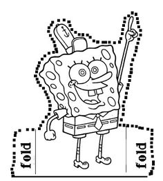 spongebob birthday coloring pages - photo#17