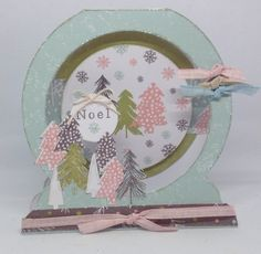 Card designed by Joanne Street using Peppermint Forest Collection