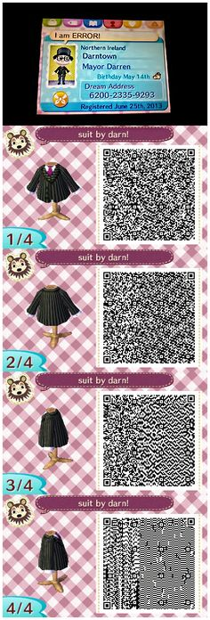 Animal Crossing: New Leaf - Suit by DaRn by ~darn02 on deviantART #ACNL