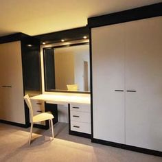 Wardrobe With Dressing Table. | Bedroom ideas | Pinterest ...