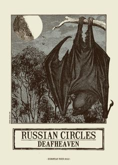 Russian Circles & Deafheaven by Error!Design