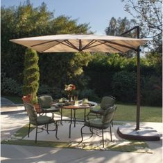 Offset Umbrellas Huge Discounts on Offset Patio Umbrellas & Cantilever Umbrella sale at FactoryDirectPatioUmbrellas.com