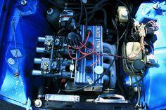 Alpina A 110 Renault 12 Gordini Engine