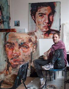 Artist Andrew Salgado (UK) |  Artist and his arts.