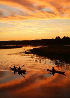 Kayaking on the Quaboag River in Central Massachusetts. #travel  #massachusetts   Photo Credit: Les Gardner