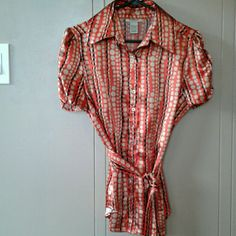 915aaf86c510b I just discovered this while shopping on Poshmark  Vertigo Paris Top Size  L. Check it out! Price   29 Size  L