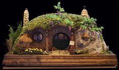 Hobbit huis, gemaakt door Rik Pierce: