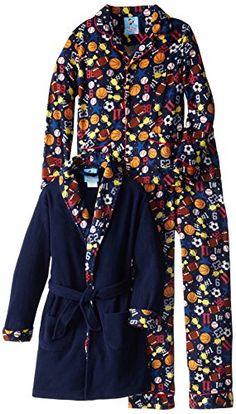 Bunz Kids Big Boys' Sports Champ Bathrobe and Pajama Set, Navy, 12 Bunz Kids http://www.amazon.com/dp/B00M94THPE/ref=cm_sw_r_pi_dp_Yf5Pub0P9NQBK