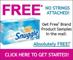 Get a Free Sample of #Snuggle #Laundry #Fabric Softener at http://freesamples.us/free-sample-of-snuggle-laundry-fabric-softener/