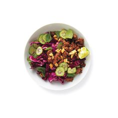 Thai Turkey Salad ❤ liked on Polyvore featuring food, food and drink, fillers and food & drink
