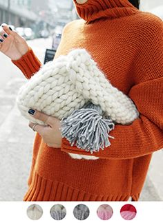 Crochet Clutch Bags, Thick Sweaters, Patchwork Patterns, Stitch 2, Knitted Bags, Handmade Bags, Lana, Seaside, Bag Accessories
