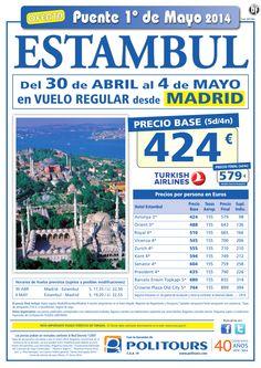 ESTAMBUL - Puente de Mayo - salida 30 de Abril desde Madrid (5d/4n) precio final 579€ ultimo minuto - http://zocotours.com/estambul-puente-de-mayo-salida-30-de-abril-desde-madrid-5d4n-precio-final-579e-ultimo-minuto-8/