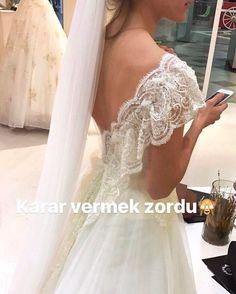 """252 Beğenme, 5 Yorum - Instagram'da CİGDEM METİN WEDDING DRESS (@cigdemmetingelinlik): """"Provalar  #cigdemmetingelinlik #cigdemmetin"""""""