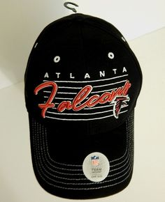 Atlanta Falcons Baseball Cap Football NFL Hat New w Tags NWT Embroidered  ATL NWT  NFLTeamApparel 9e37a947e