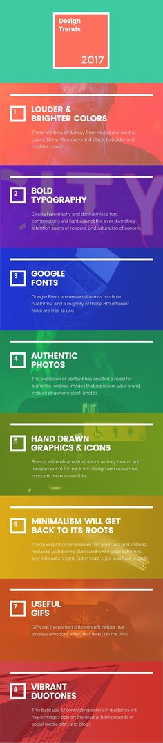 #Infographic - Eight New Graphic Design Trends That Will Take Over 2017